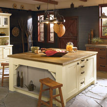 Rustic Cabinet Design Style