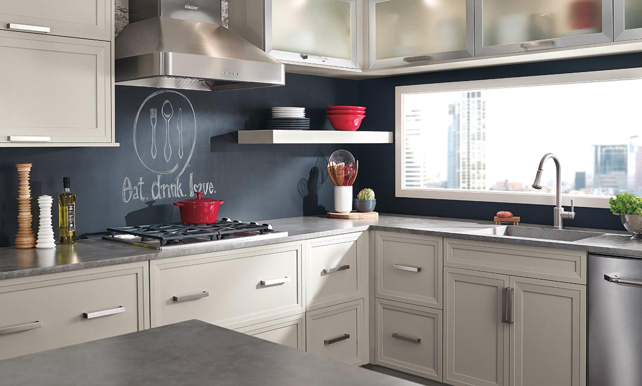 modern kitchen cabinet. Brilliant Modern Asher Gray Kitchen Cabinets In Maple Cirrus Throughout Modern Kitchen Cabinet O