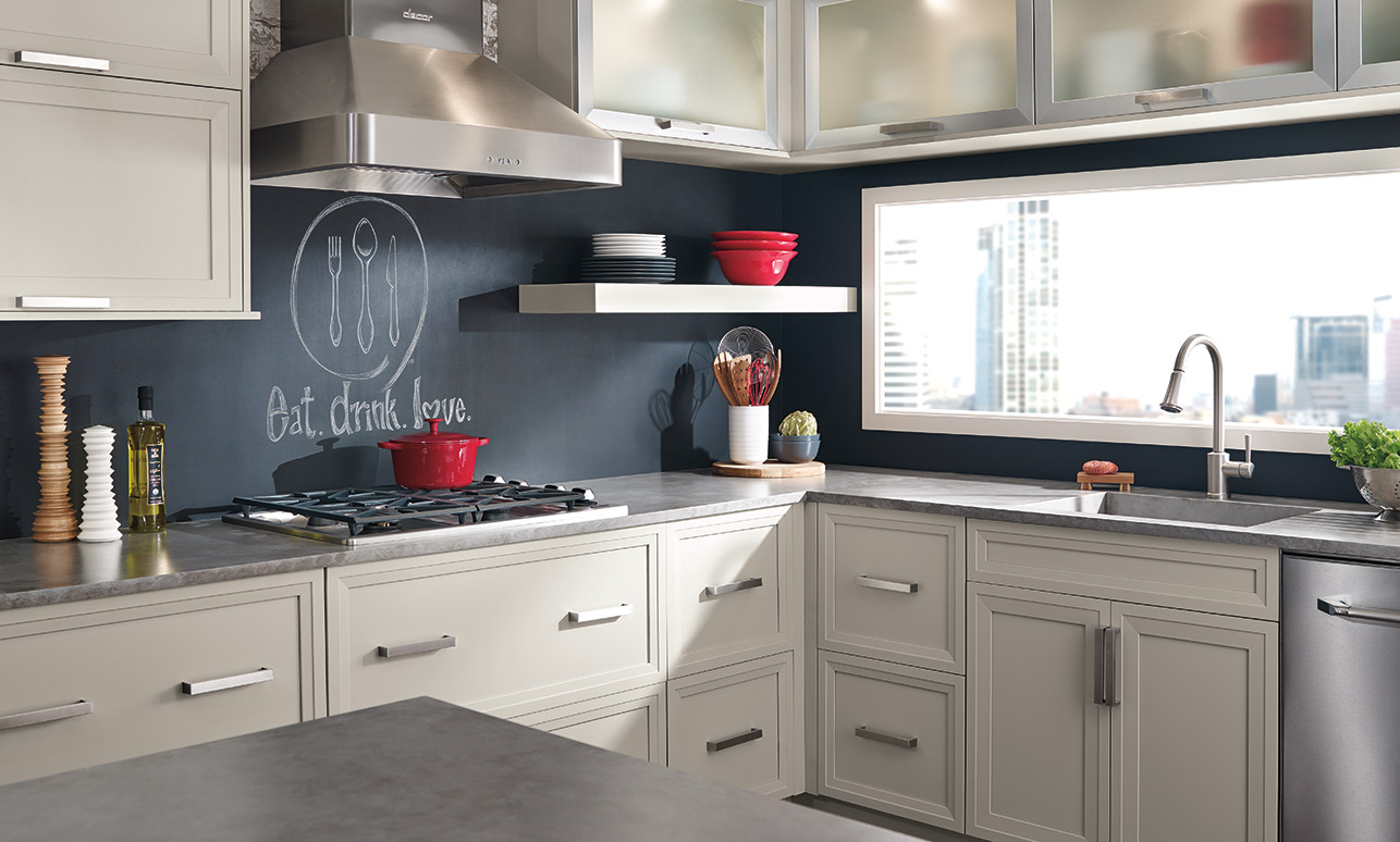 Wonderful Modern, European Style Cabinetry