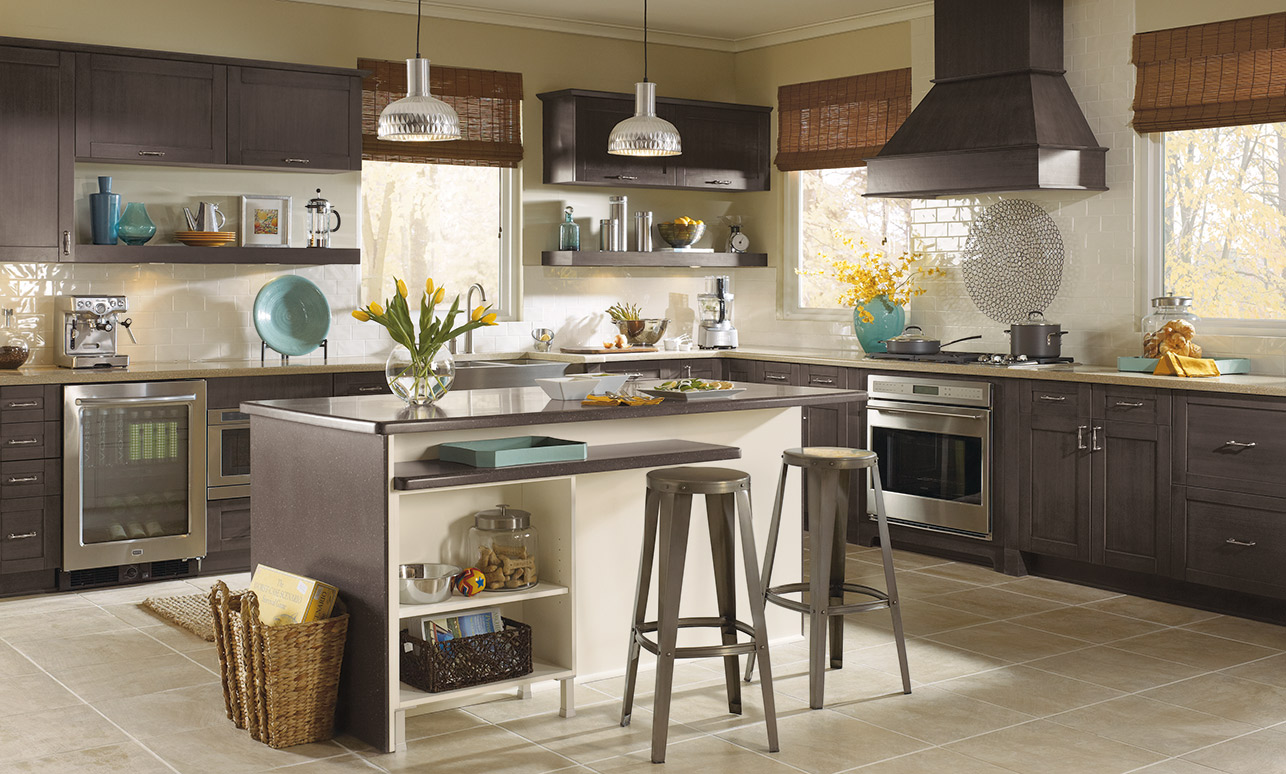 Kitchen Craft Cabinets House Construction Planset of dining room