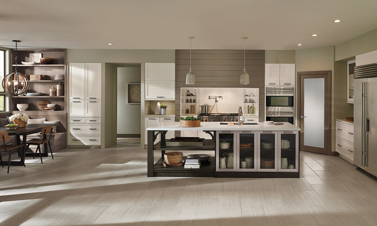 Elan Cabinets In An Open Kitchen Design