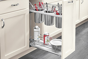 Base Cabinet Utensil Holder Pullout