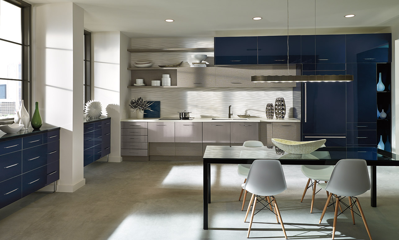 Contemporary Style Kitchen Cabinets modern european-style kitchen cabinets – kitchen craft