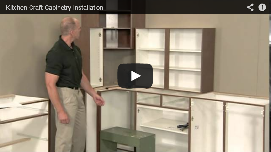 Cabinet installation tutorial video