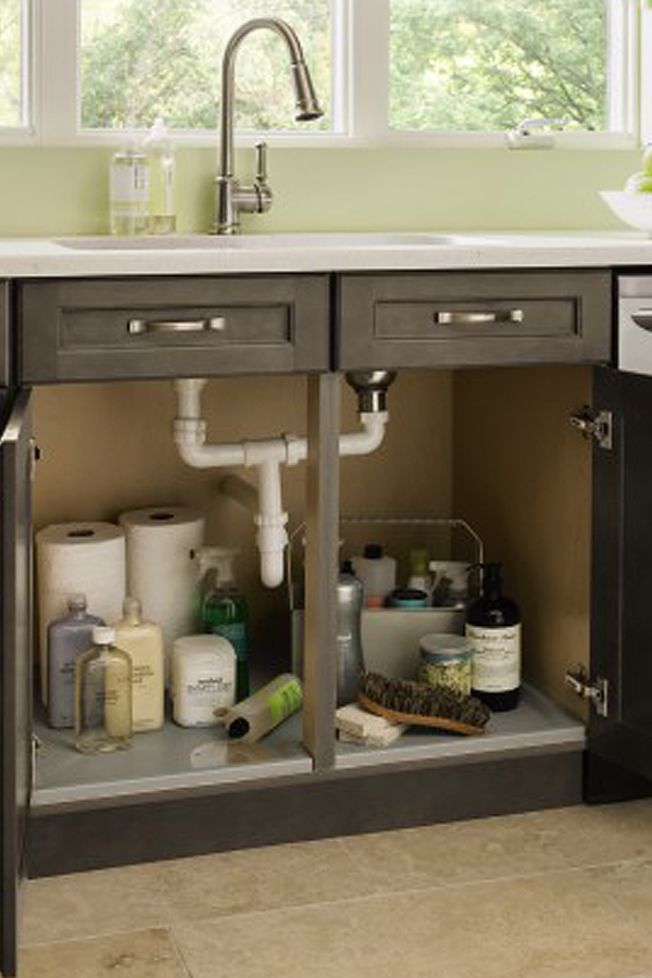 Sink Base Cabinet With Tilt Out Kitchen Craft