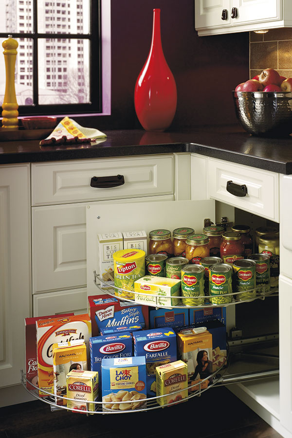 Base blind corner cabinet kitchen craft for Kitchen craft cabinets home depot