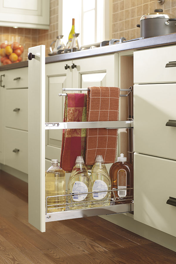 Base Pull Out Towel Rack Cabinet