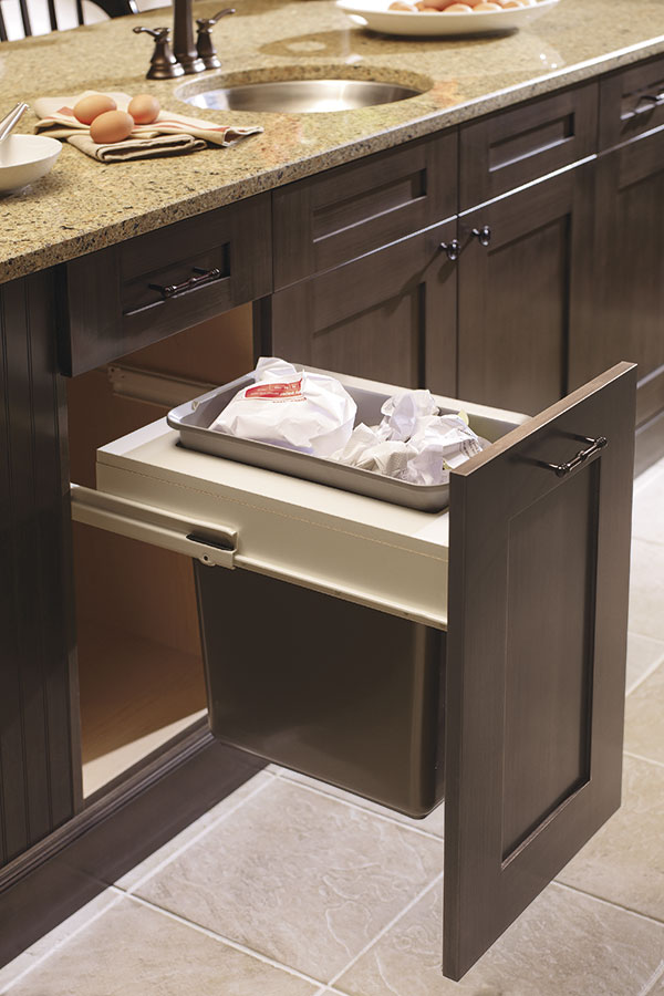 kitchen cute cabinet for center recycling home bins