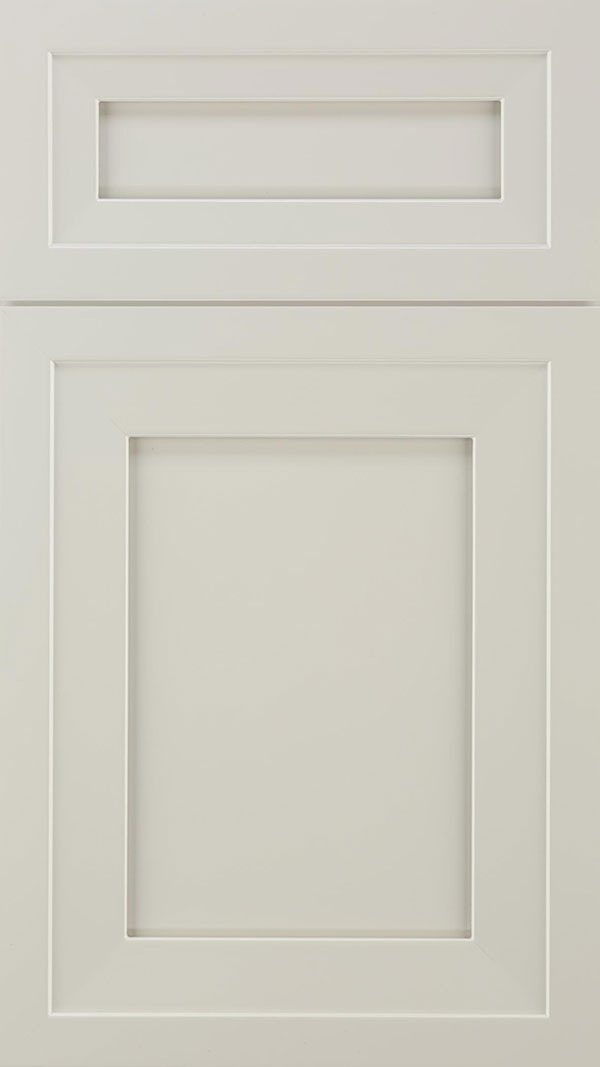 Asher 5pc Maple flat panel cabinet door in Cirrus