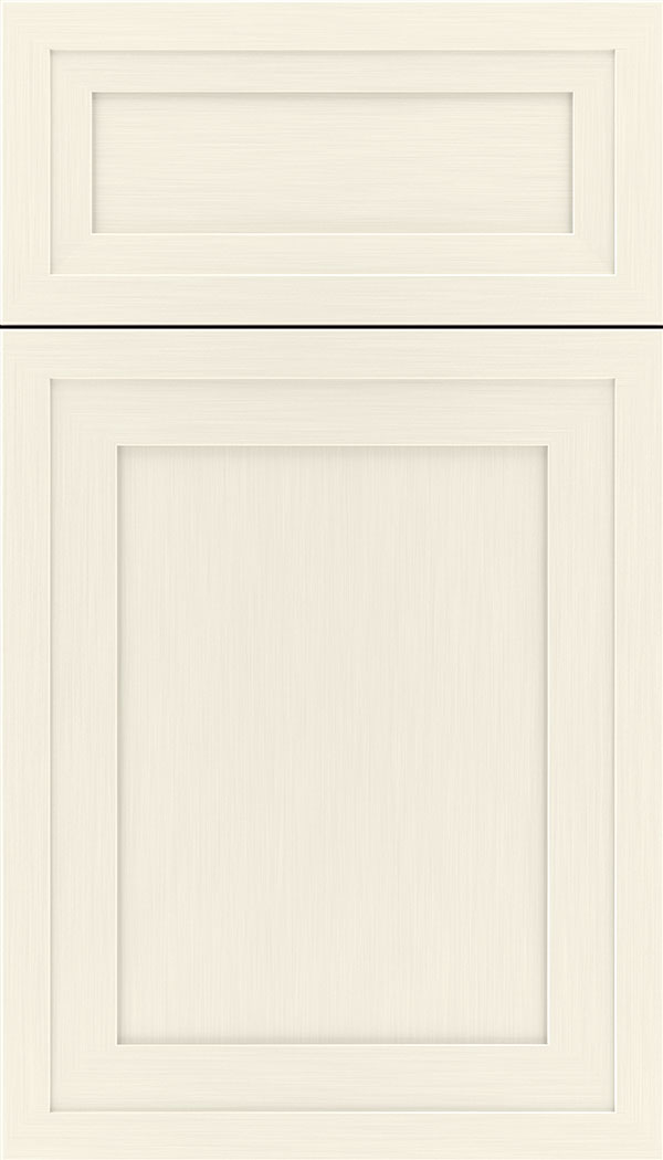 Asher 5pc Maple flat panel cabinet door in Millstone