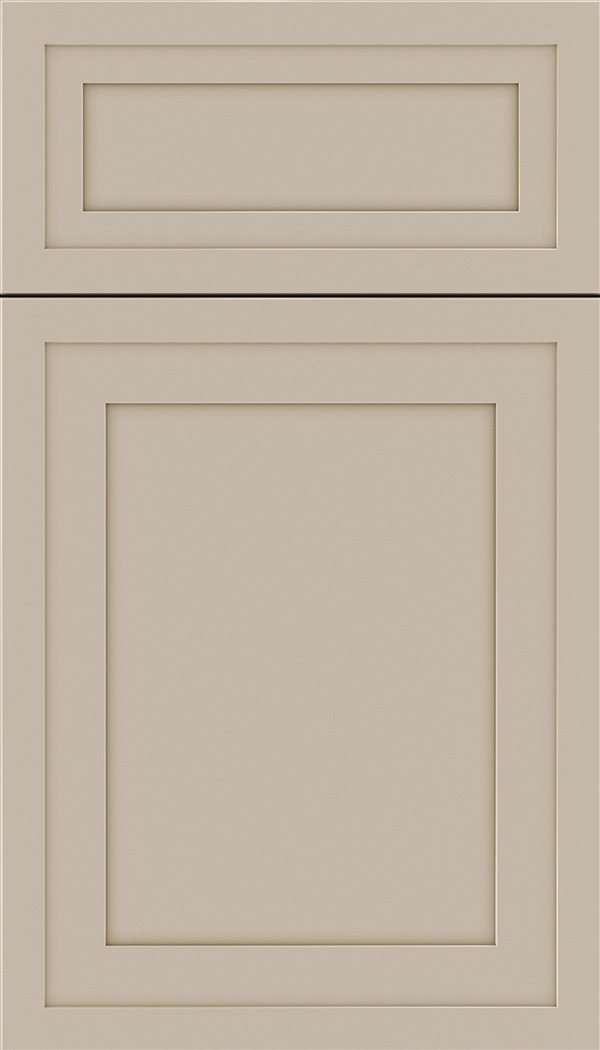 Asher 5pc Maple flat panel cabinet door in Moonlight