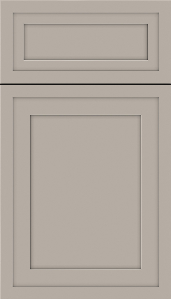 Asher 5pc Maple flat panel cabinet door in Nimbus