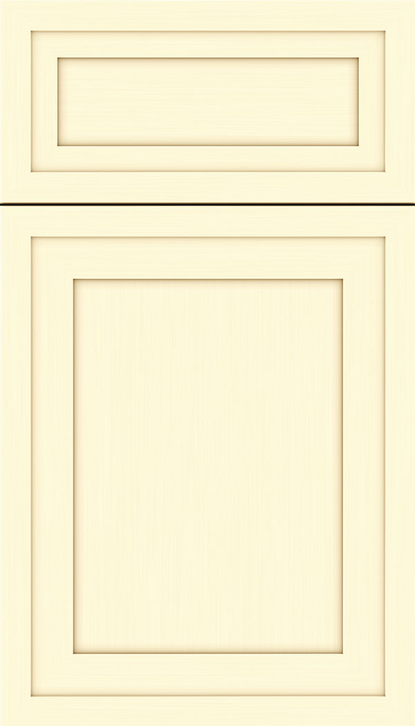 Asher 5pc Maple flat panel cabinet door in Palomino