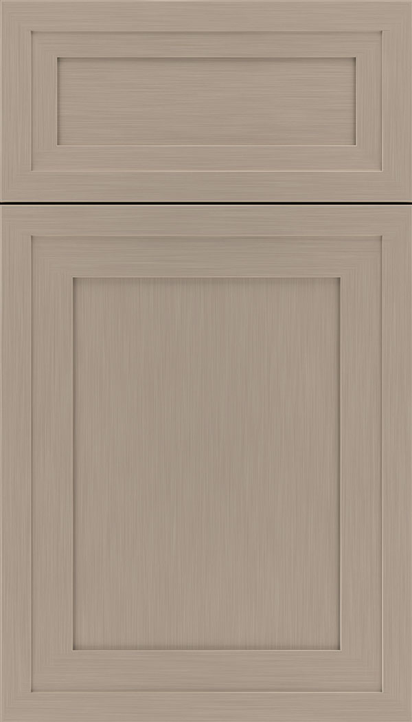 Asher 5pc Maple flat panel cabinet door in Portabello