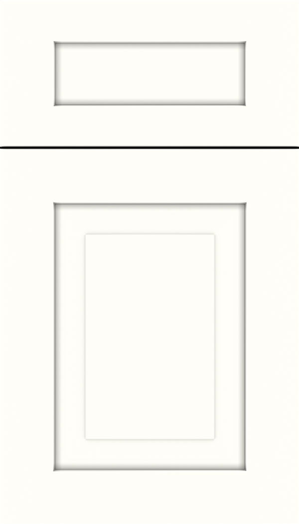 Beckett 5pc MDF cabinet door in Alabaster