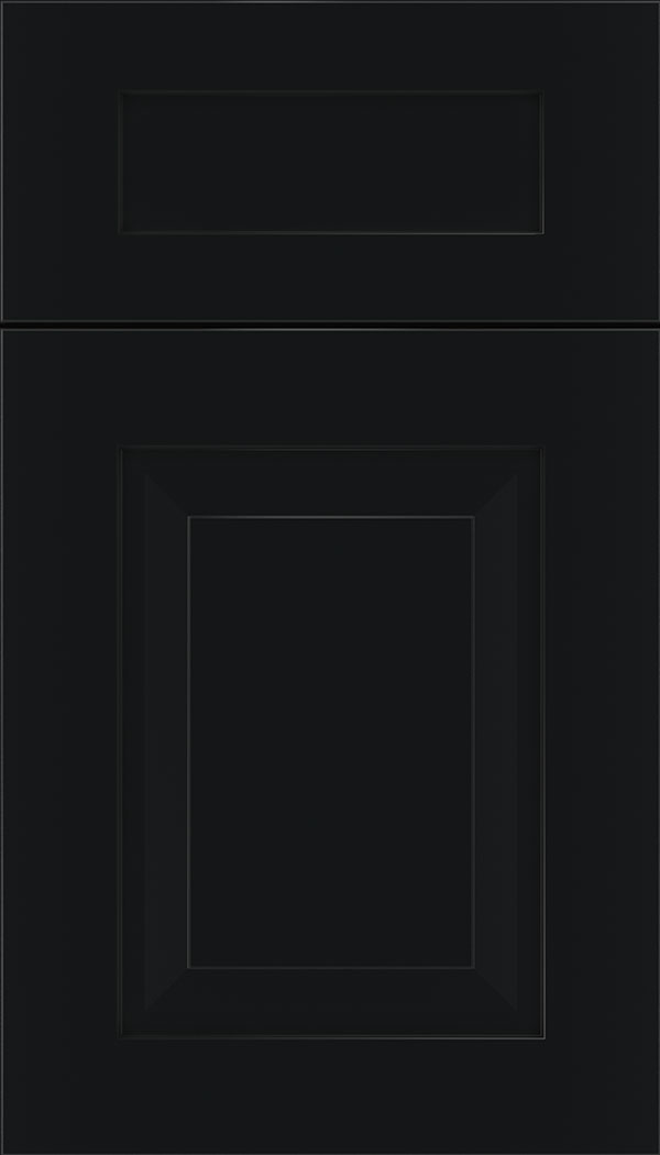 Beckett 5pc MDF cabinet door in Black