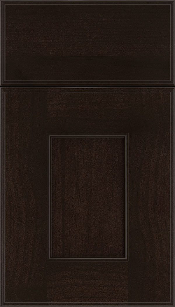 Berkeley Alder flat panel cabinet door in Espresso