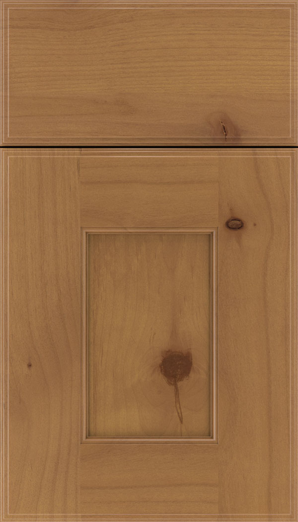 Berkeley Alder flat panel cabinet door in Ginger