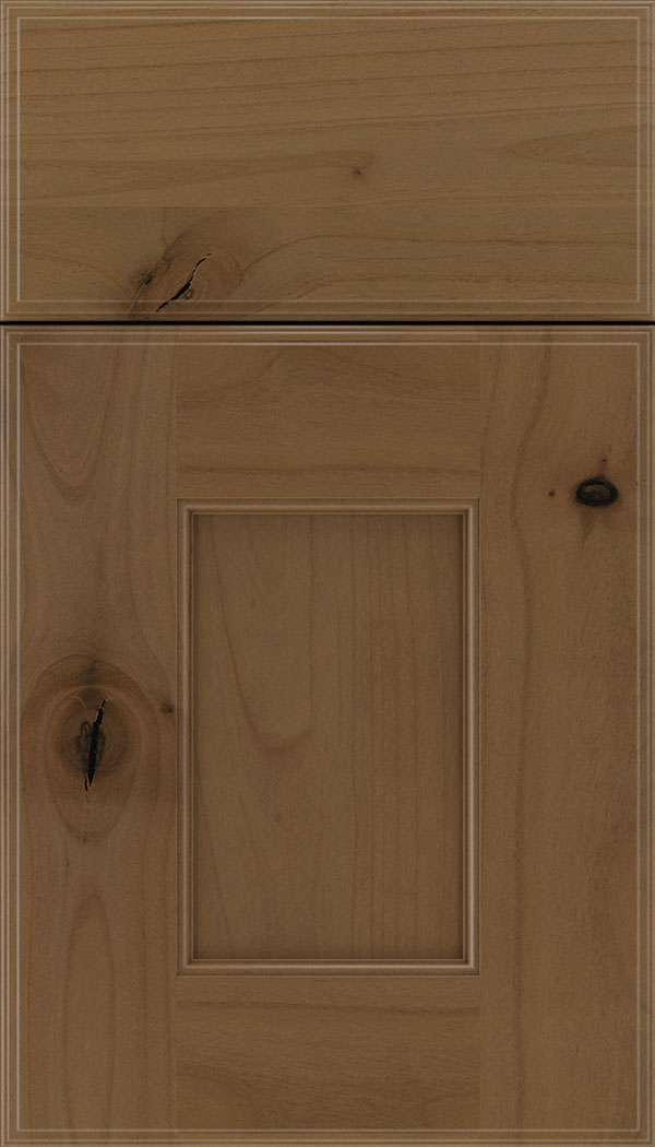 Berkeley Alder flat panel cabinet door in Tuscan