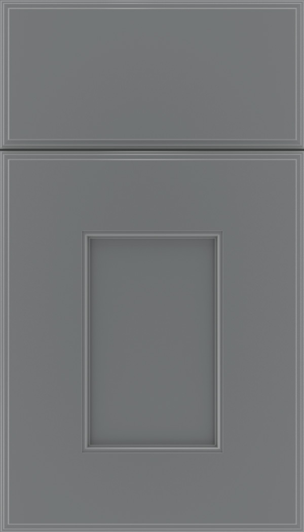 Berkeley Maple flat panel cabinet door in Cloudburst