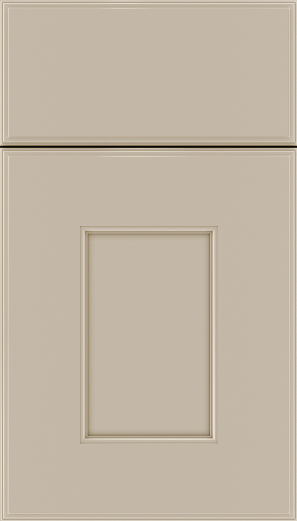 Berkeley Maple flat panel cabinet door in Moonlight