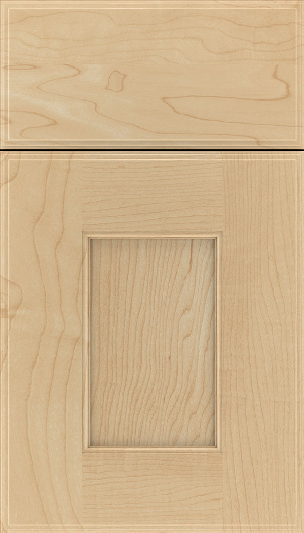 Berkeley Maple flat panel cabinet door in Natural