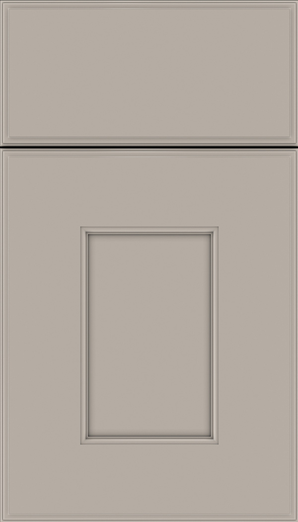 Berkeley Maple flat panel cabinet door in Nimbus