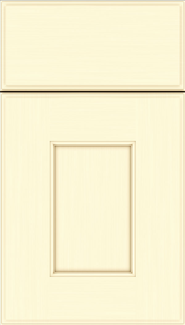 Berkeley Maple flat panel cabinet door in Palomino