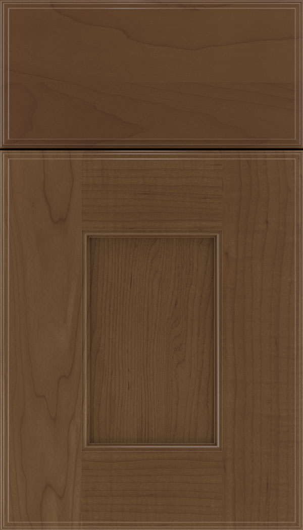 Berkeley Maple flat panel cabinet door in Sienna