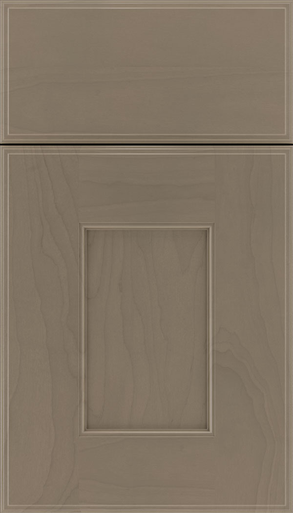 Berkeley Maple flat panel cabinet door in Winter