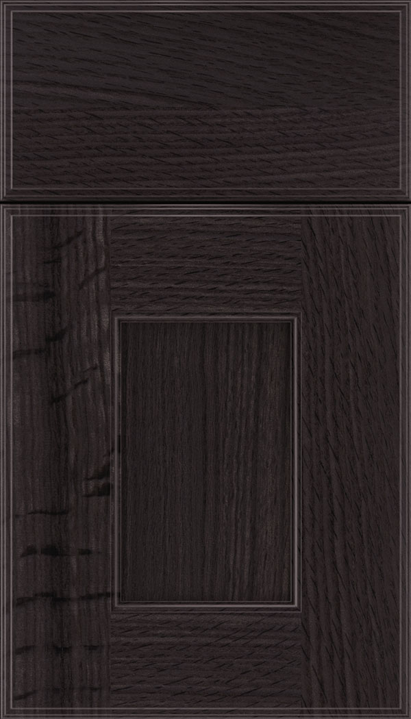 Berkeley Rift Oak flat panel cabinet door in Espresso