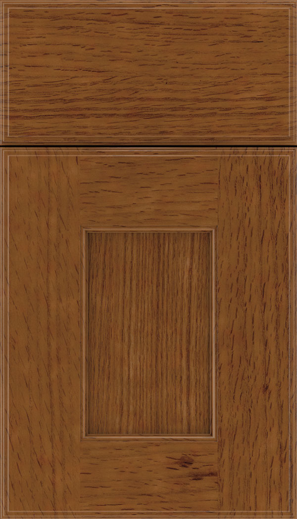Berkeley Rift Oak flat panel cabinet door in Nutmeg