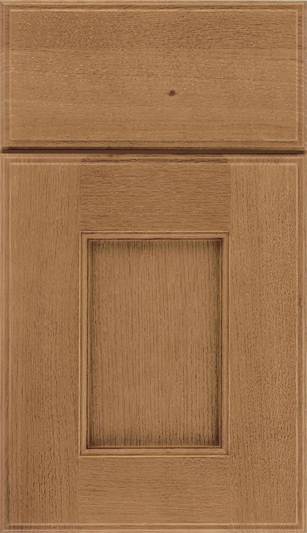 Berkeley Rift Oak flat panel cabinet door in Tuscan