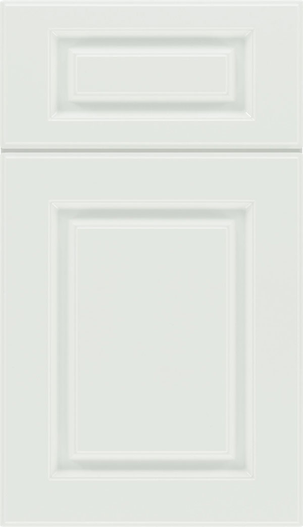 Bristol 5-Piece Thermofoil cabinet door in Satin White