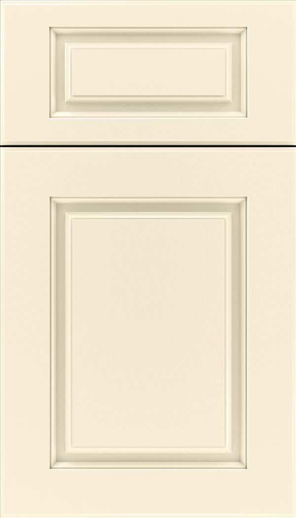 Bristol 5pc Thermofoil cabinet door in Textured Antique