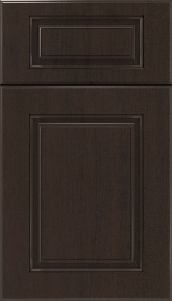 Bristol 5pc Thermofoil cabinet door in Woodgrain Sambuca