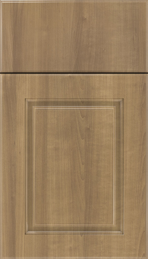Bristol Thermofoil cabinet door in Satinwood