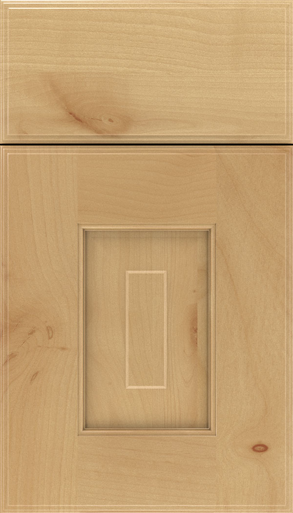 Brookfield Alder raised panel cabinet door in Natural