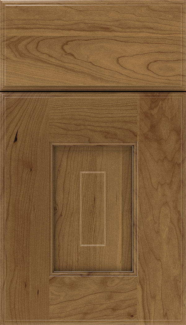 Brookfield Cherry raised panel cabinet door in Tuscan