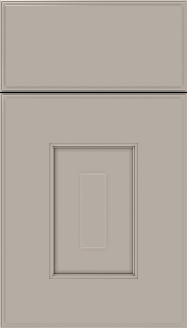 Brookfield Maple raised panel cabinet door in Nimbus
