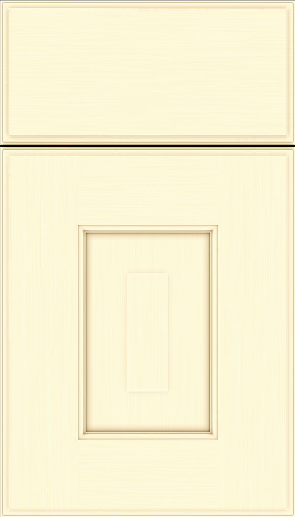 Brookfield Maple raised panel cabinet door in Palomino