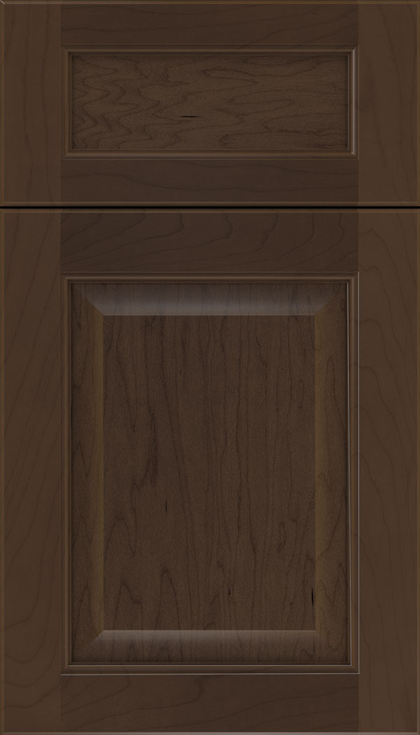 Cambridge 5pc Maple raised panel cabinet door in Cappuccino