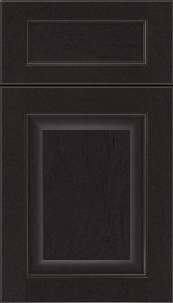 Cambridge 5pc Maple raised panel cabinet door in Charcoal