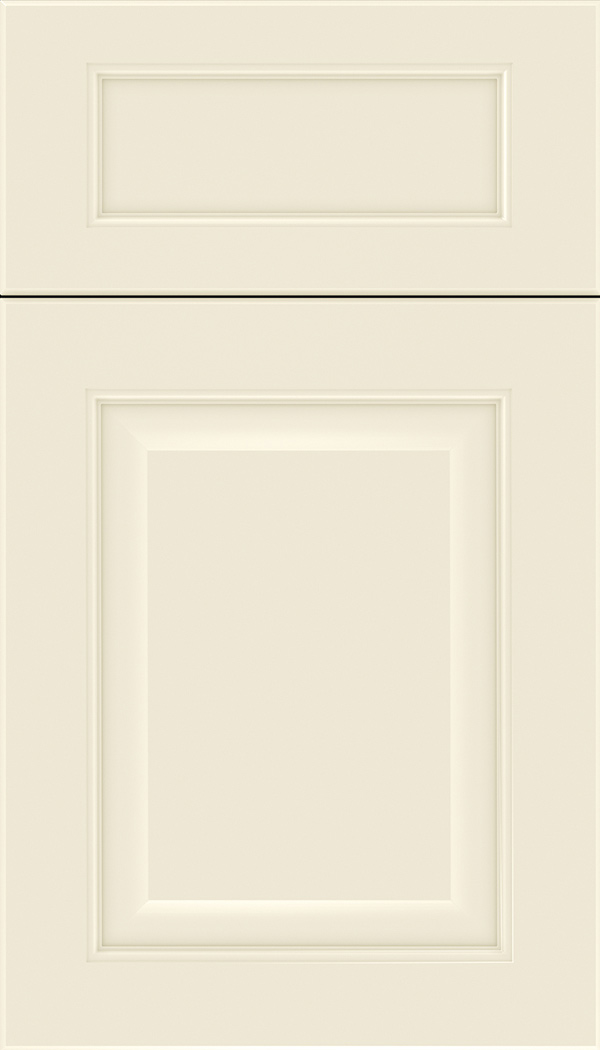 Cambridge 5pc Maple raised panel cabinet door in Seashell