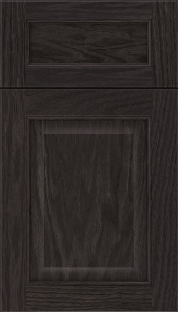 Cambridge 5pc Oak raised panel cabinet door in Espresso