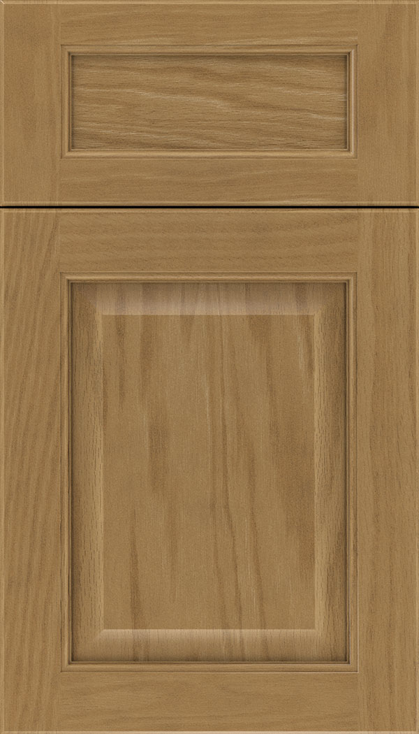 Cambridge 5pc Oak raised panel cabinet door in Tuscan