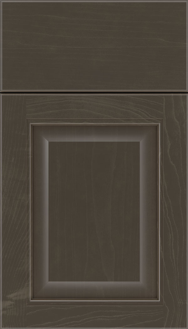 Cambridge Maple raised panel cabinet door in Thunder
