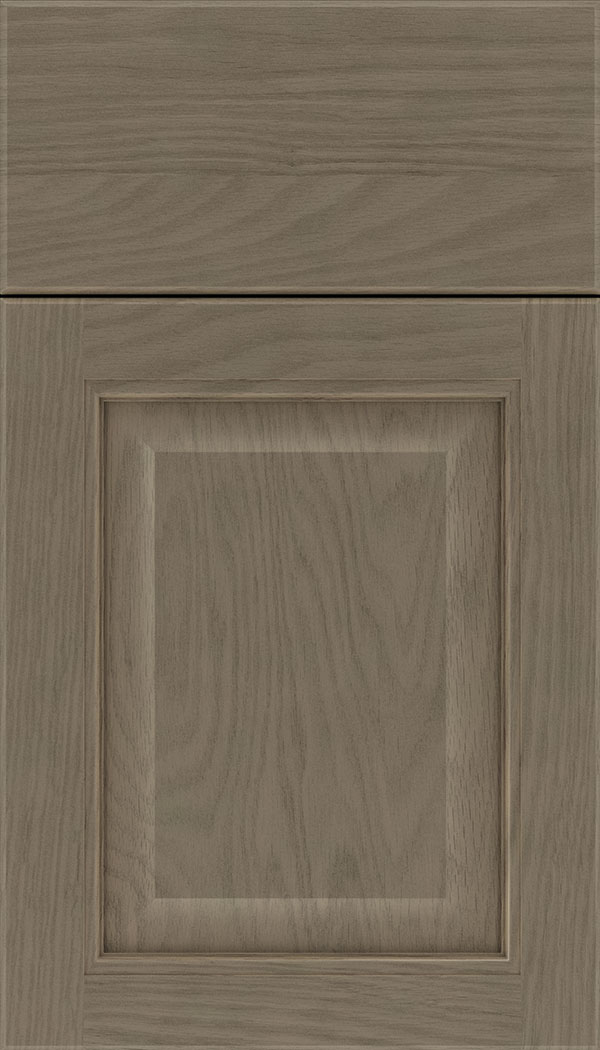 Cambridge Oak raised panel cabinet door in Winter