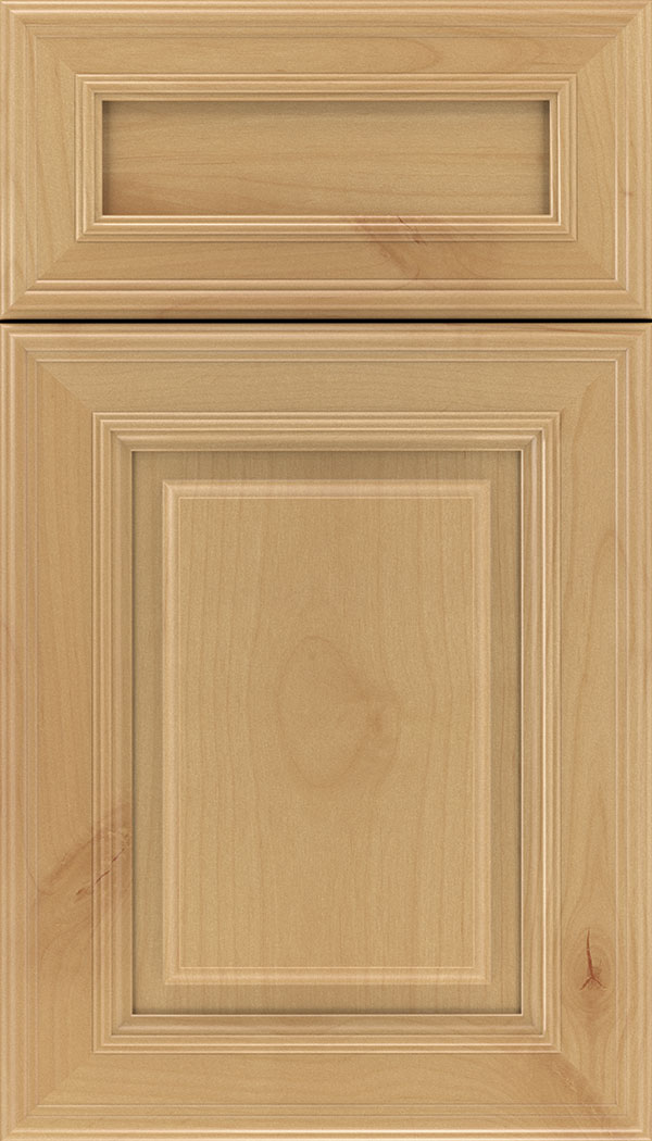 Chamberlain 5pc Alder raised panel cabinet door in Natural