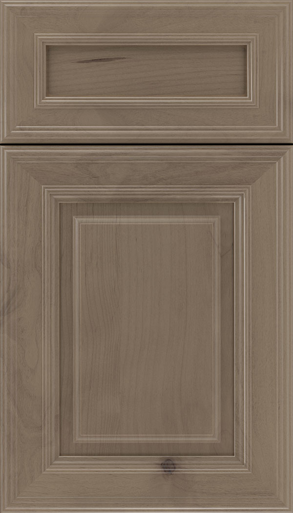 Chamberlain 5pc Alder raised panel cabinet door in Winter
